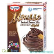 Dr. Oetker Mousse Dark Chocolate Instant dessert mix