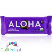 Aloha Chocolate Fudge Brownie vegan, organic protein bar