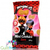 Miraculous Ladybird no sugar added mini cookies