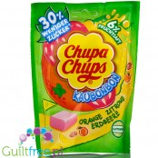 Chupa Chups Chewy candies 30% less sugar, Orange, Lemon & Strawberry