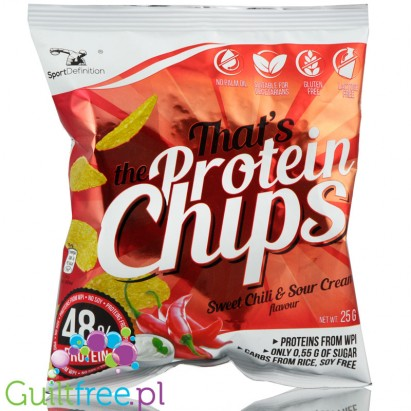 Sport Definition Chips Sweet Chilli & Sour Creme