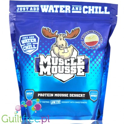 Muscle Mousse White Chocolate & Reaspberry
