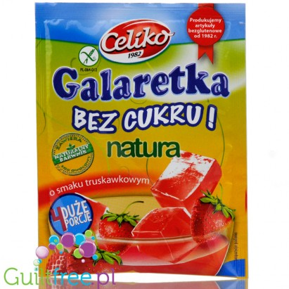 Celiko sugar free, sweeteners free strawberry jelly