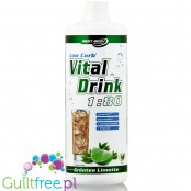 Vital Drink Green tea & Lime sugar free concetrate with L-carnitine