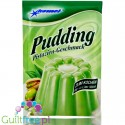 Komet, sugar free and sweetners free Pistachio pudding