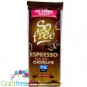 Plamil So Free Dark Espresso, vegan finest dark chocolate 72% cocoa, 35g