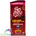 Plamil So Free Dark Hemp Seed, vegan finest dark chocolate 72% cocoa