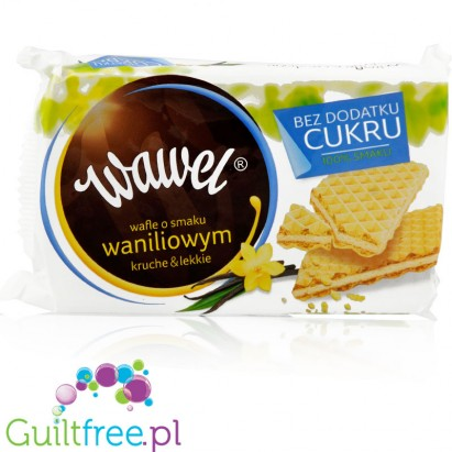 Wawel vanilla waffers no added sugar, 110g