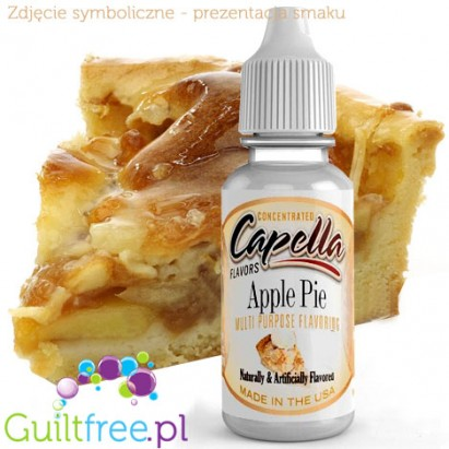 Capella Apple Pie concentrated flavor