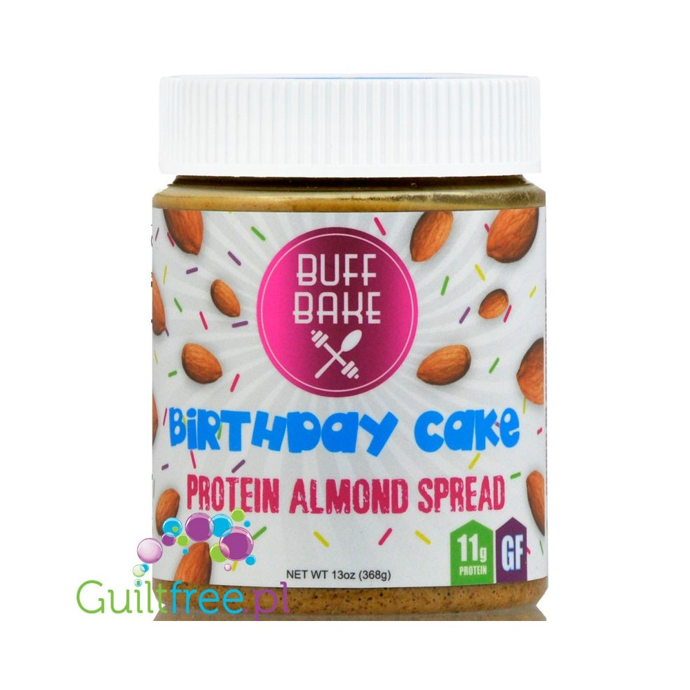 Buff Bake Birthday Cake