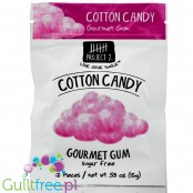 Project 7 Cotton Candy Gum 0.53oz