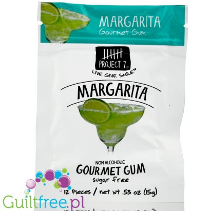 Project 7 Margarita - guma do żucia bez cukru