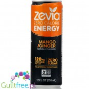 Zevia Energy Mango & Ginger