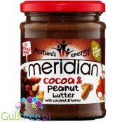 Meridian Cocoa & Peanut Butter with coconut & honey