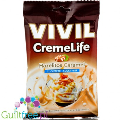 Vivil Cremelife Hazelitos Caramel sugar free candies