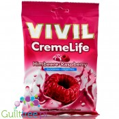 Vivil Cremelife Raspberry sugar free candies