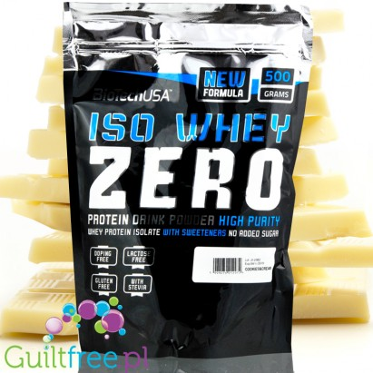 Biotech USA Iso Whey Zero White Chocolate