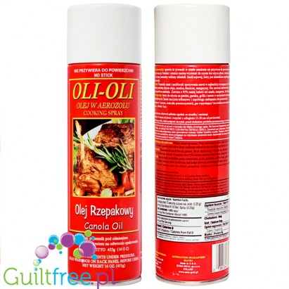 Olo-Oli Canola Cooking Spray 453g