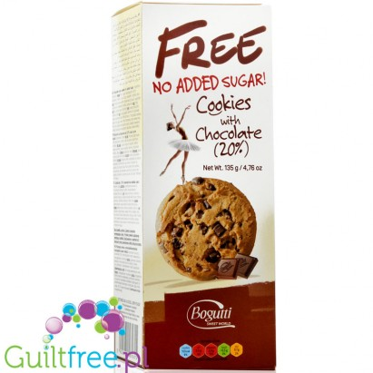 Bogutti no sugar added cookies with chocolate