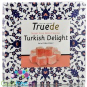 Truede sugar free rose flavor Turkish Delight