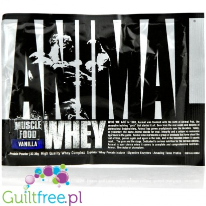 Animal Whey Vanilla saszetka 33g