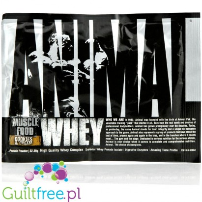 Animal Whey Cookies & Cream saszetka 32g
