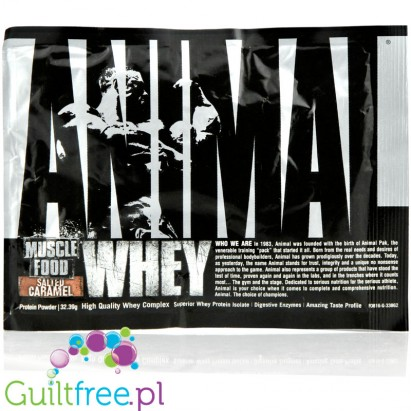 Animal Whey Salted Caramel saszetka 32g