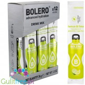 Bolero Instant Fruit Flavored Drink with sweeteners, Lemon & Lime - Powder Mix