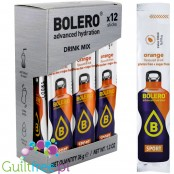 Bolero Sticks Isotonic Sport 9kcal - orange isotonic powder mix