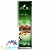 Cavalier Caramel Stevia Speculaas bar no added sugar 40g