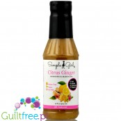 Simple Girl Citrus GInger dressing & marinade with organic stevia