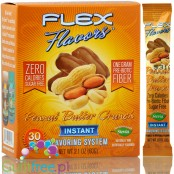 Flax Flavors Peanut Butter Crunch zero calorie flavoring system