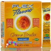 Flax Flavors Creme Brulee zero calorie system