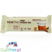 ThinkThin Maple Almond sugar free & gluten free bar