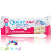 Quest Bar Birthday Cake