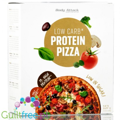 Body Attack low carn protein pizza