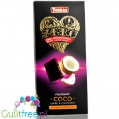 Torras Zero sugar free dark chocolate with coconut