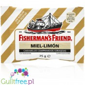 Fisherman's Friend Lemon & Honey sugar free powder candies