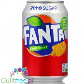 Fanta Fruit Twist Zero Sugar, 330ml, w puszce