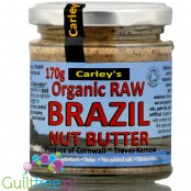 Carley's Raw Brazil Nut Butter, raw,, organic, 170g