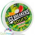 Ice Breakers Sours, green apple & watermelon sugar mints