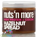Nuts n More Hazelnut Cocoa Spread with xylitol and whey protein