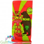 BEAR Super Sour Strawberry & Apple Yoyo