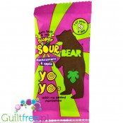 BEAR Super Sour Blackcurrant & Apple Yoyo