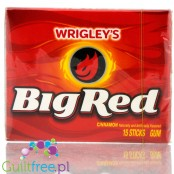 Wrigley Big Red cynamonowa guma do żucia (cheat meal)