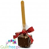 Santini sugar free hot chocolate on a stick