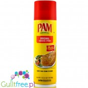 PAM Original no-stick cooking spray for fat-free cooking - Spray canola-coconut for calorific frying and baking