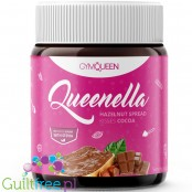 GymQueen Queenella Kisses, Smooth Hazelnut Spread with Stevia and erythritol