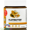 D's Naturals Fluff Gooey Bananas Foster vegan peanut butter with xylitol and stevia