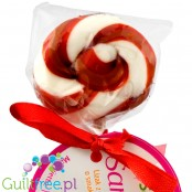 Santini lollipop sugar sweetened with colloidal xylitol
